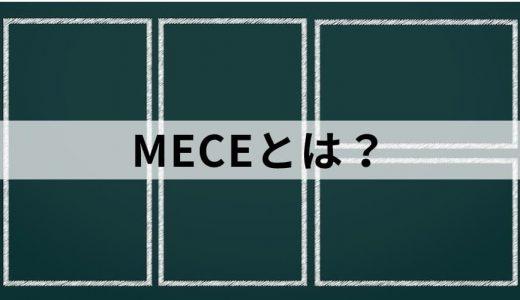 基本がわかる! MECE(ミーシー)とは? 分解の切り口やフレームワークの例