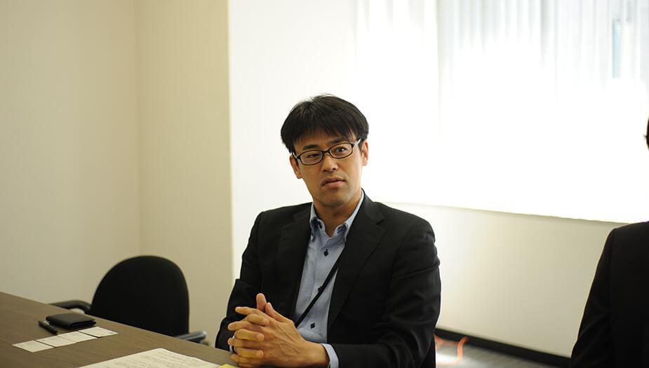 ▲管理本部 人事労政部 人事ブロック ブロックリーダー 倉橋亮夫様