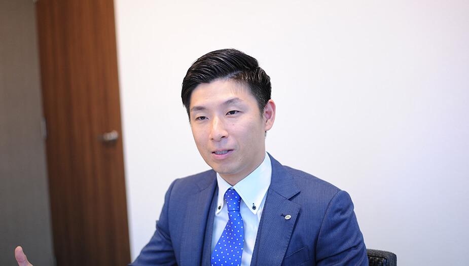 ▲営業企画グループ 課長代理 西川辰之介様