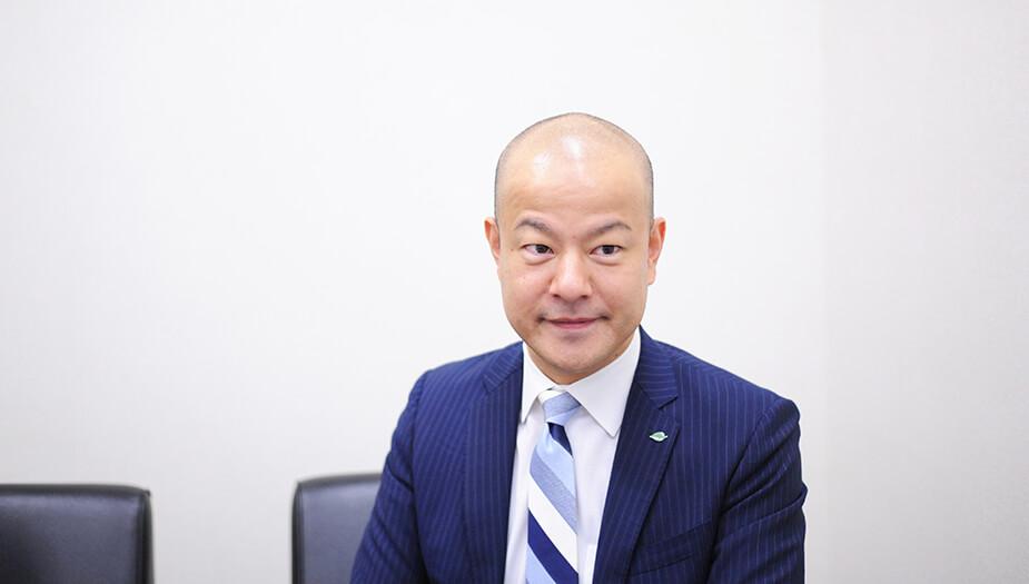 ▲人事総務担当 執行役員 人事部 部長 在里弘樹様