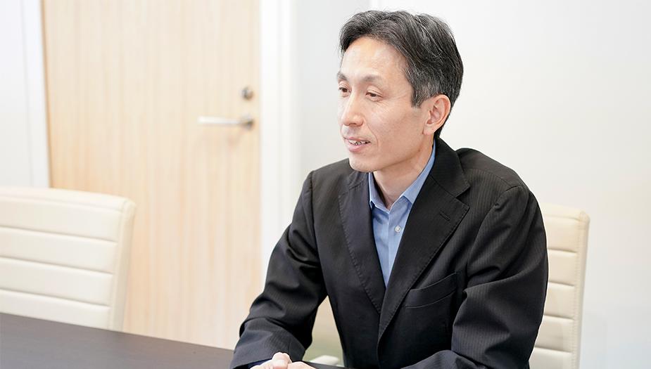 ▲広報・IRグループ マネージャー 石川顕啓様