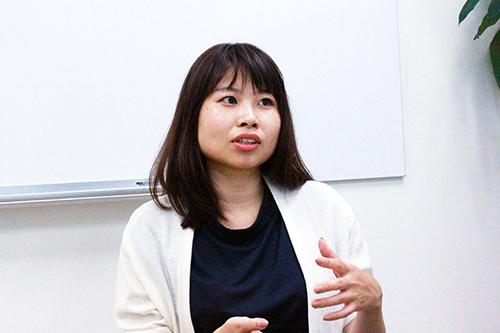 コーポレートDiv. 人事グループ マネージャー 三井 瀬里奈 様
