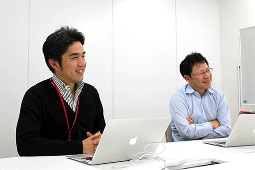 (右)取締役 コーポレート本部長 恩田 茂穂氏 (左)コーポレート本部 戦略人事部 部長 秋岡 和寿氏