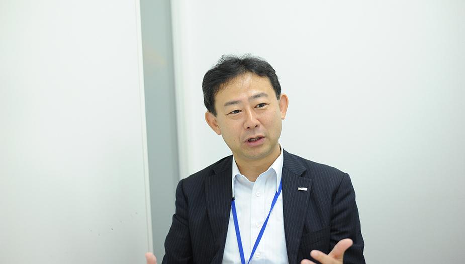 ▲執行役員最高人財責任者(CHRO)江上茂樹様