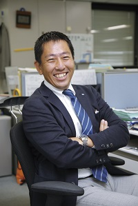 経営管理局 総務人事部 主事 中西 昌信氏