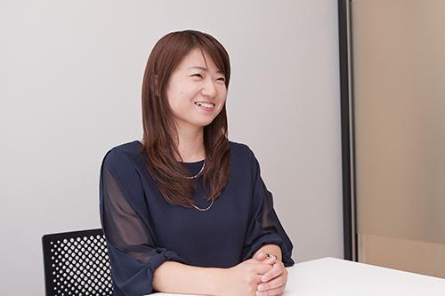 LAVA事業部 管理部 統括マネージャー(2016年3月 当時) 名波 花子氏