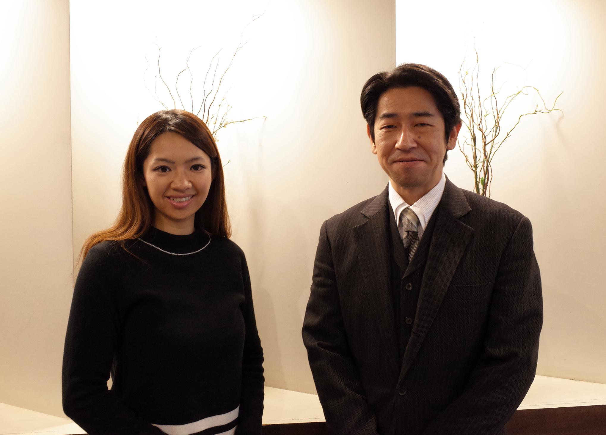 右:運用事業部部長 和田様 左:本部経営企画室 大柿様